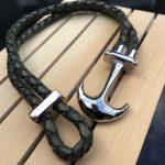 Anchor Leather bracelets