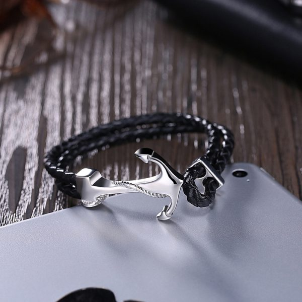 Mens Bracelets with anchor