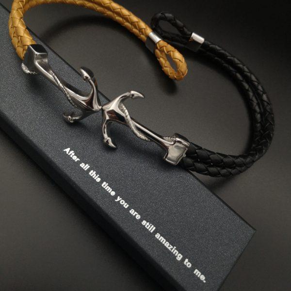 Anchor Couple Bracelets