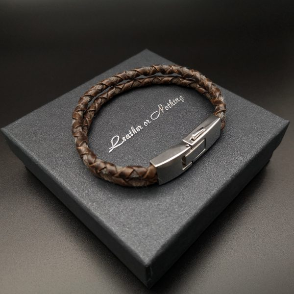 Leather or Nothing bracelet